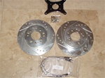 2002-2006 Nissan Sentra drum to disc kit
