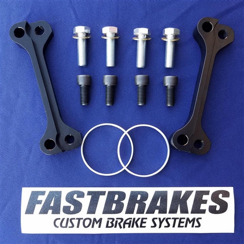 """Fastbrakes 1996-2000 Late Civic 11"""" Front Rotor Adapter Kit"""