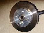 Fastbrakes 2 piece Plain SpecR 11 inch rotor for Spoon 4 piston or TypeR calipers