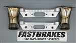 Fastbrakes S2000 Brake Duct bracket for StopTech C43 kit
