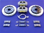 "Fastbrakes 1998-2002 Accord V6 13"" AP Racing 4 piston caliper big brake kit"