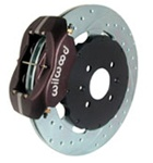 "Wilwood 1990-2001 Integra, Civic EX, del Sol VTEC, EK Civic Si 12.2"" 4 piston big brake kit"